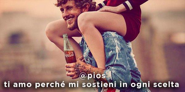 Gli auguri di San Valentino con CocaCola!