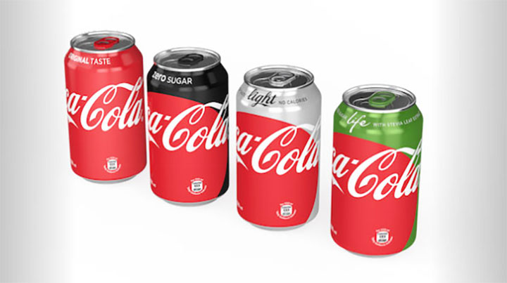 Coca cola nuovo packaging